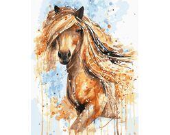 Golden Horse Mane
