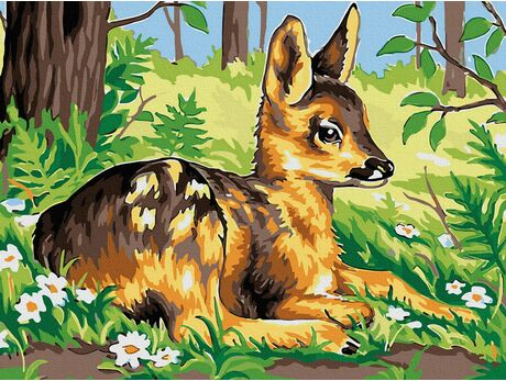 Deer Bambi paint by numbers