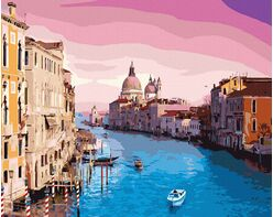 Magic sky in Venice
