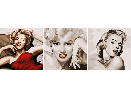 The legendary Marilyn Monroe paint by numbers