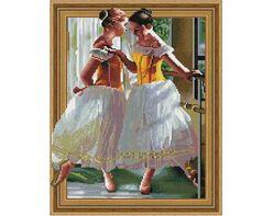 Beautiful young ballerinas